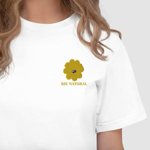 BEE NATURAL - Embroidered T-Shirt