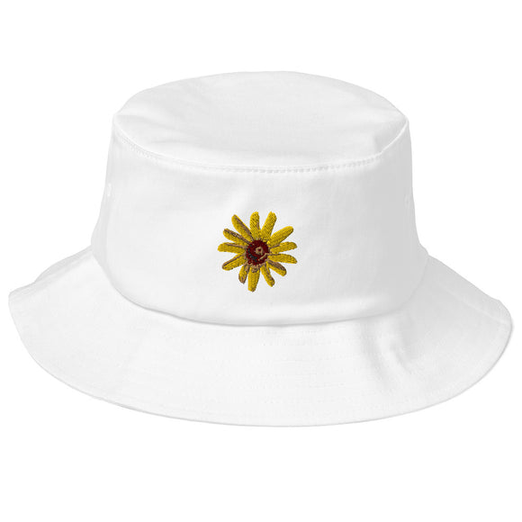 BEE NATURAL - Old School Bucket Hat - w/Wildflower