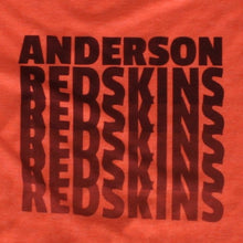 Load image into Gallery viewer, Anderson Redskins - Fade, Shirt, - Newtown Shirt Company