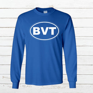 BVT Long Sleeve Tee Full Logo - Newtown Shirt Company
