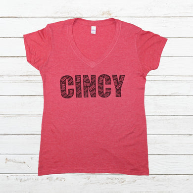 Cincy Love - Red - Newtown Shirt Company