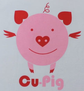 Cu-Pig (Women's V-Neck) - Newtown Shirt Company