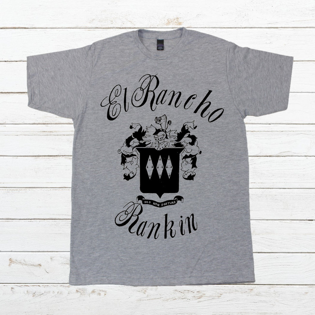El Rancho Rankin - Menu, Shirt, - Newtown Shirt Company
