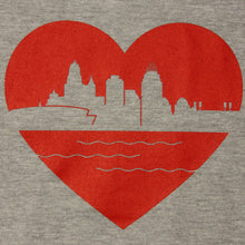 Load image into Gallery viewer, Heart of Cincy - Hoodie, Shirt, - Newtown Shirt Company