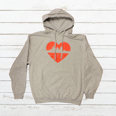 Heart of Cincy - Hoodie, Shirt, - Newtown Shirt Company