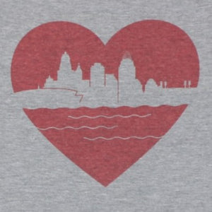 Heart of Cincy, Shirt, - Newtown Shirt Company