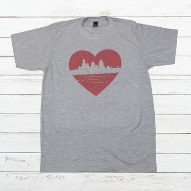 Heart of Cincy - Newtown Shirt Company