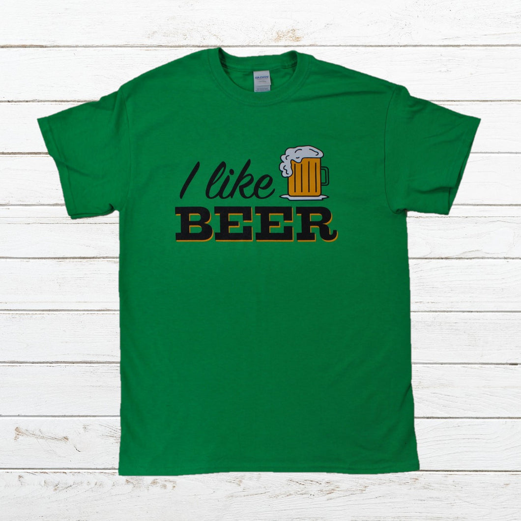 I Like Beer, Shirt, - Newtown Shirt Company