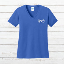 Load image into Gallery viewer, BVT Womens V-Neck Tee - Newtown Shirt Company