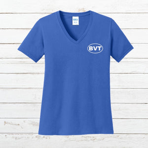 BVT Womens V-Neck Tee - Newtown Shirt Company
