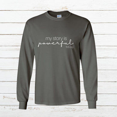 My Story - Long Sleeve, Shirt, - Newtown Shirt Company