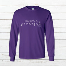 Load image into Gallery viewer, My Story - Long Sleeve - Newtown Shirt Company