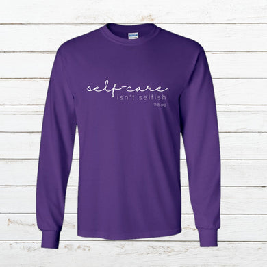 Self Care - Long Sleeve, Shirt, - Newtown Shirt Company