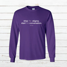 Load image into Gallery viewer, Stop Stigma - Long Sleeve, Shirt, - Newtown Shirt Company