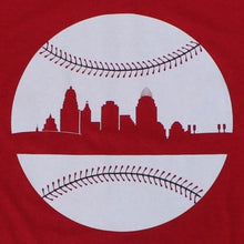 Load image into Gallery viewer, Cincy Baseball, Shirt, - Newtown Shirt Company