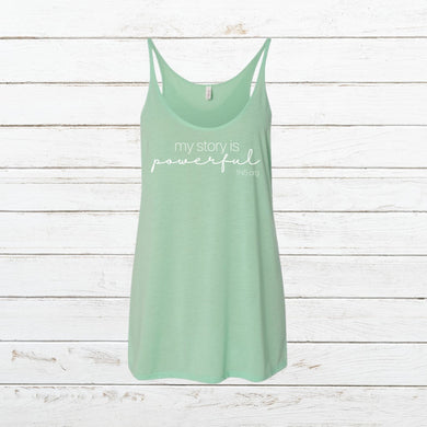 My Story - Women's Tank, Shirt, - Newtown Shirt Company