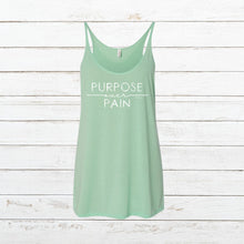 Load image into Gallery viewer, Purpose over Pain - Women's Tank, Shirt, - Newtown Shirt Company