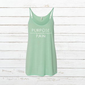 Purpose over Pain - Women's Tank, Shirt, - Newtown Shirt Company