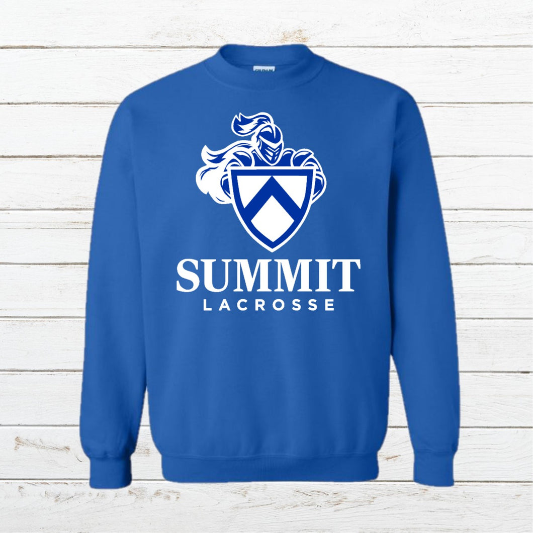 Summit Lacrosse - Crewneck Sweatshirt - Newtown Shirt Company
