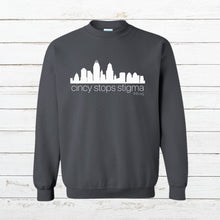Load image into Gallery viewer, Cincy Stops Stigma - Sweatshirt - Newtown Shirt Company