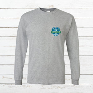 THSRC - Long Sleeve Club Tee (Small Logo) - Newtown Shirt Company