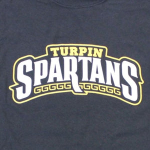 Turpin Spartans - Black, Shirt, - Newtown Shirt Company