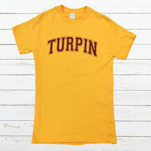 Turpin Spartans - Gold, Shirt, - Newtown Shirt Company
