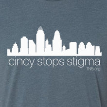Load image into Gallery viewer, Cincy Stops Stigma - Classic Tee - Newtown Shirt Company