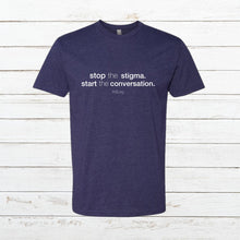 Load image into Gallery viewer, Stop the Stigma - Classic Tee, Shirt, - Newtown Shirt Company