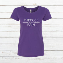 Load image into Gallery viewer, Purpose over Pain - Women's Slim Fit, Shirt, - Newtown Shirt Company