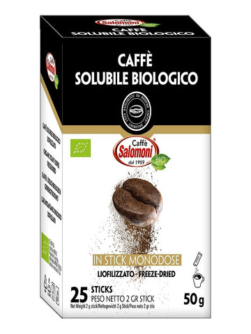 CAFFE' SOLUBILE IN STICK BIOLOGICO