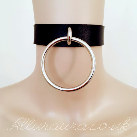 Giant Ring Choker (Black)