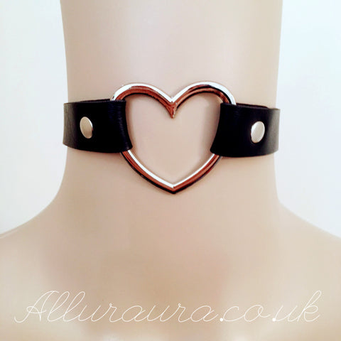 Heart Choker (Black)