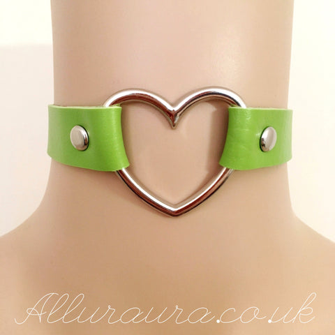 Heart Choker (Green)