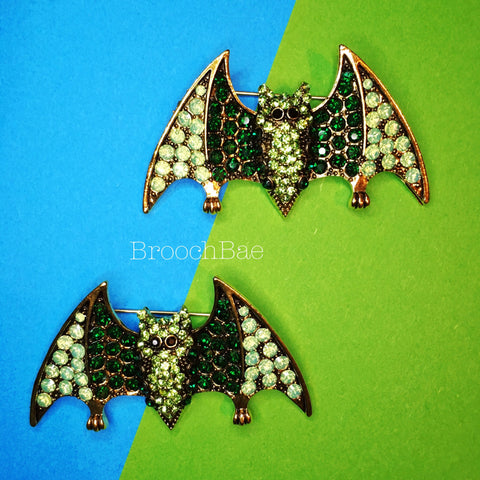 Bat Brooch