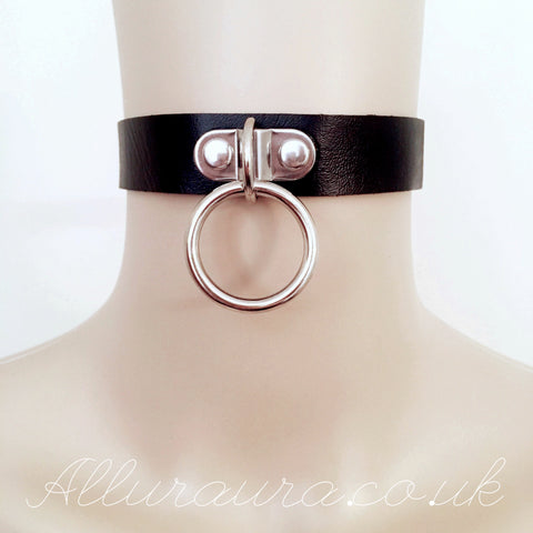 Ring Choker (Black)