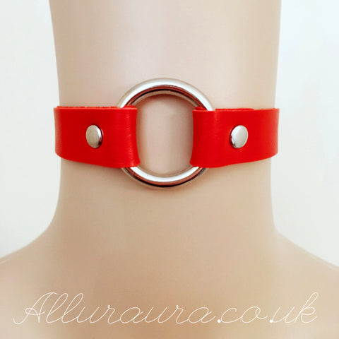 O Ring Choker (Red)