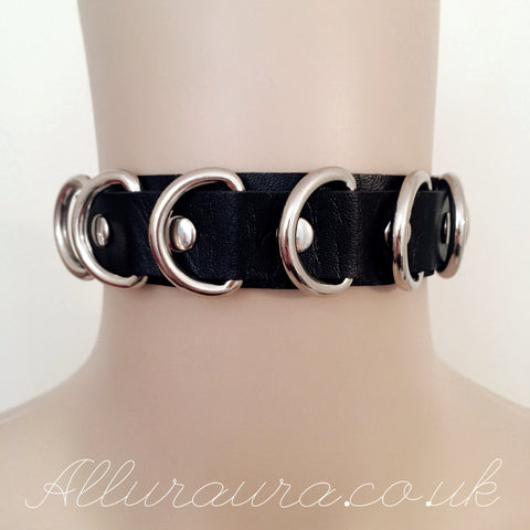 D Ring Choker (Black)