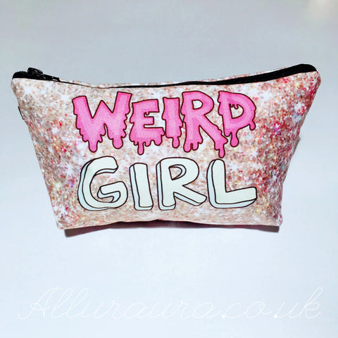 Weird Girl Makeup Bag
