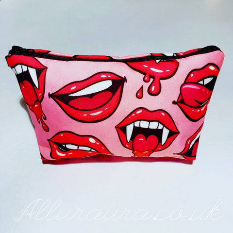 Lips & Fangz Makeup Bag