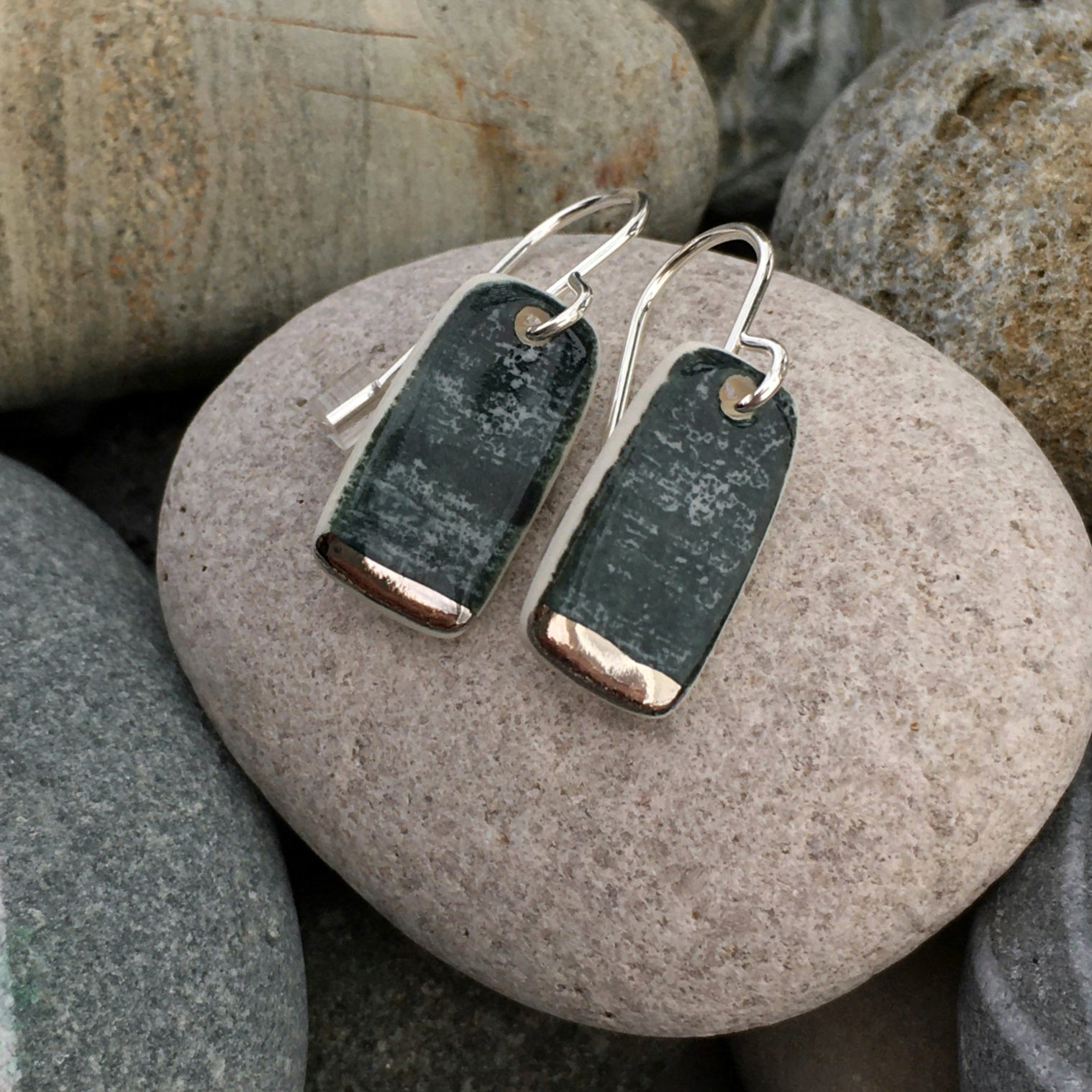 Ocean Lustre Earrings