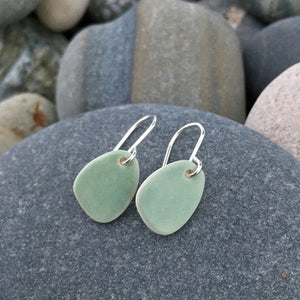 Seafoam Pebble Earrings