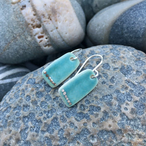 Aqua Lustre Earrings