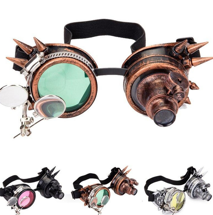Cyber Gothic Steampunk Googles