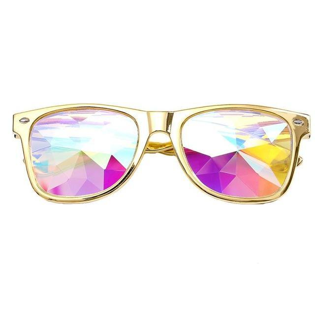 Wayfarer Kaleidoscope Glasses - Newyearsvalue