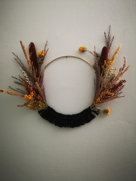 Prairie Wreath 1 (Blk)
