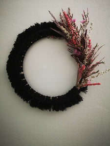 Prairie Wreath 2 (Blk)