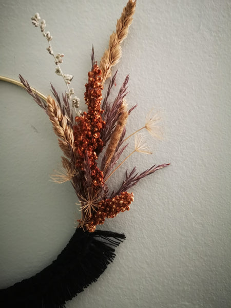 Prairie Wreath 3 (Blk)