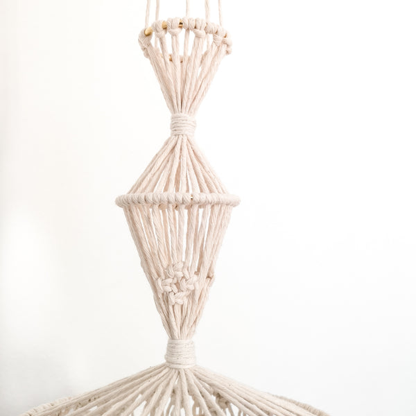Macrame Mobile/Lamp