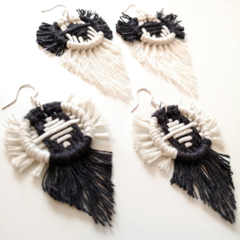 ''Arizona' Woven Earrings